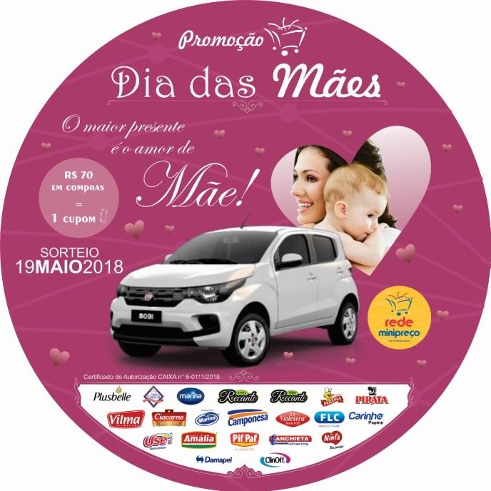 Promoção Dia das Mães Rede Minipreço